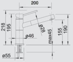 BLANCO-ALTA-S-Compact-SILGRANIT-nakres-1