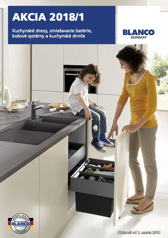 akcia kuchynske drezy blanco