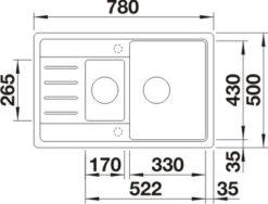 blanco-legra-6-s-compact-nakres-1